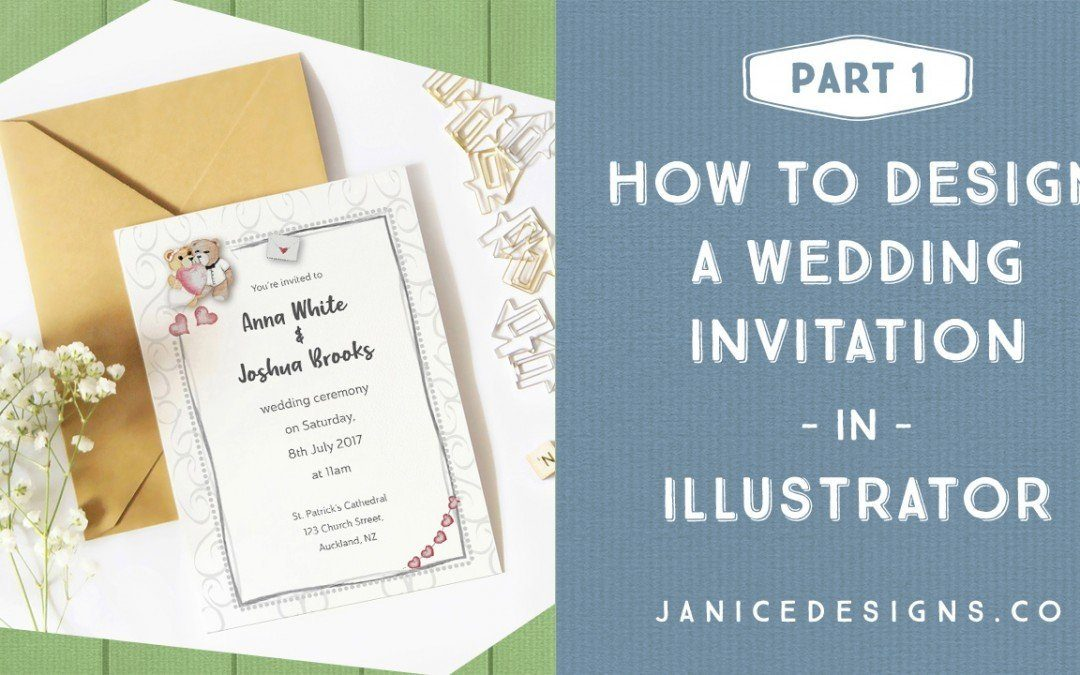 How to Design a Wedding Invitation in Illustrator – Part 1