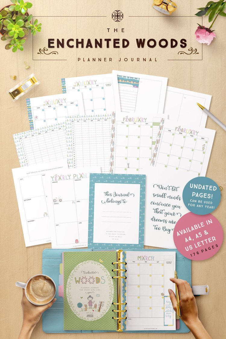 Enchanted-Woods-Planner-Journal