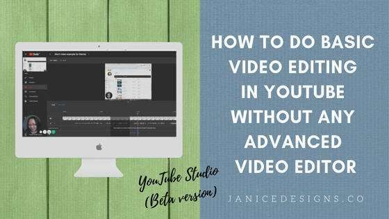 How to Do Basic Video Editing on Youtube Without Any Advanced Video Editor